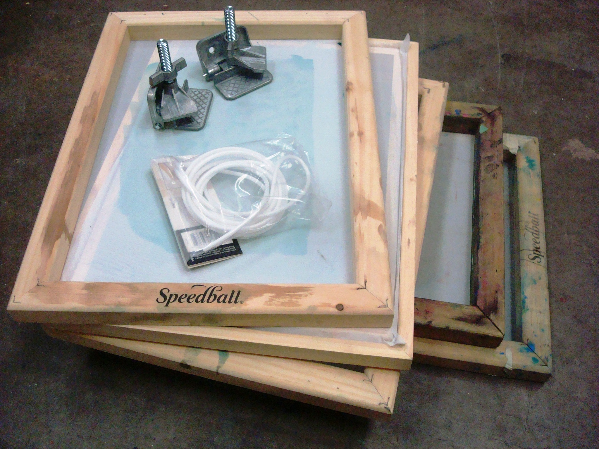 Screens, Photo Emulsion and Filler