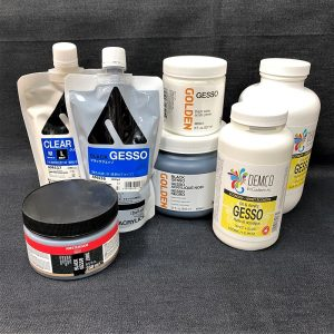 Acrylic Grounds & Gesso