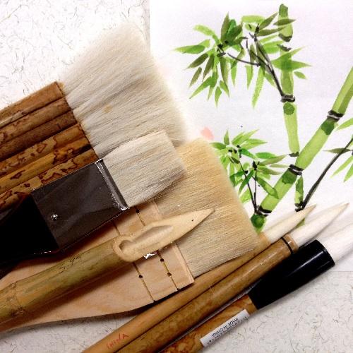 Goat Hair & Sumi-e Brushes