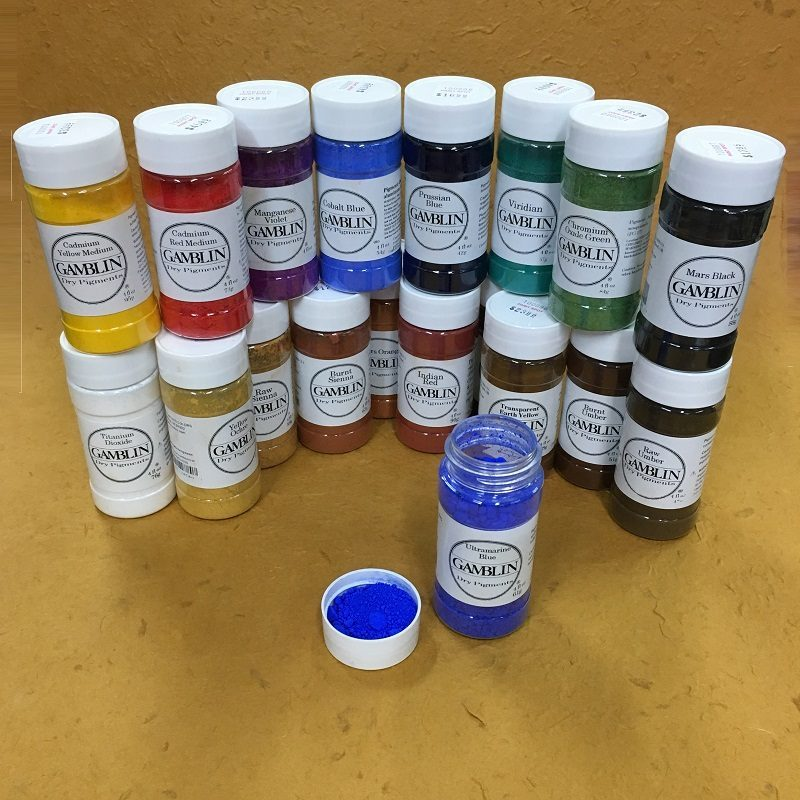 Gamblin Dry Pigments 4 oz Container
