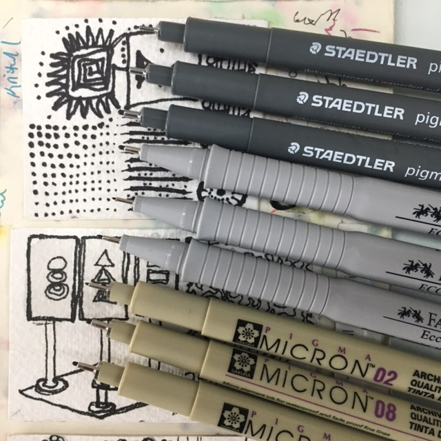 Pigment Liners