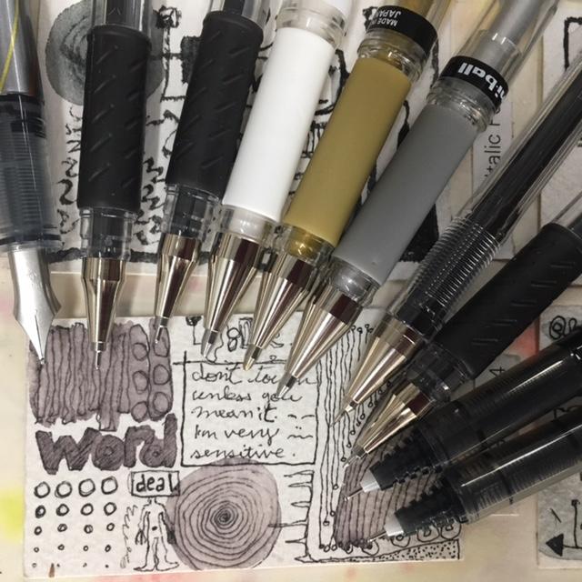 Gel Pens & Rollerballs