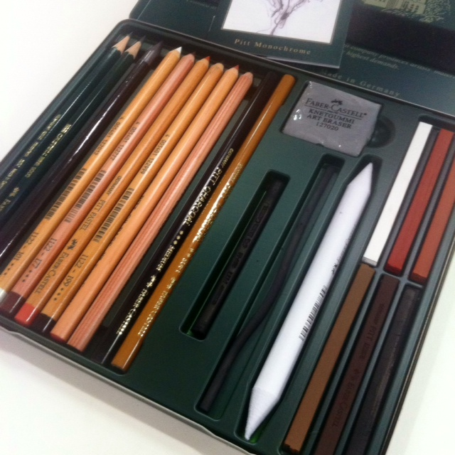 Faber Castell Pitt Monochrome 21 Piece Set The Paint Spot Art Supplies And Art Classes Edmonton