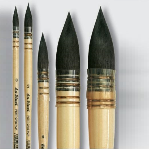 Quill Brushes Natural & Synthetic