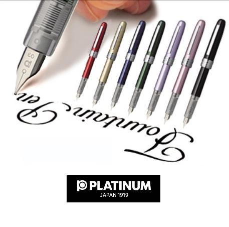 Platinum Fountain Pens