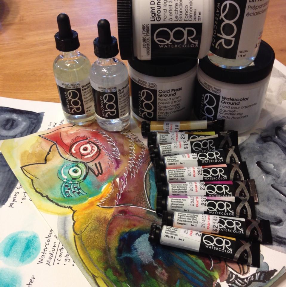 Qor Watercolours
