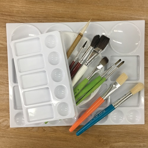 Brushes & Palettes for Schools