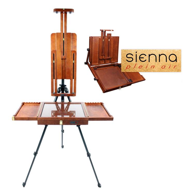 Sienna Pochade Boxes & Plein Air Easels