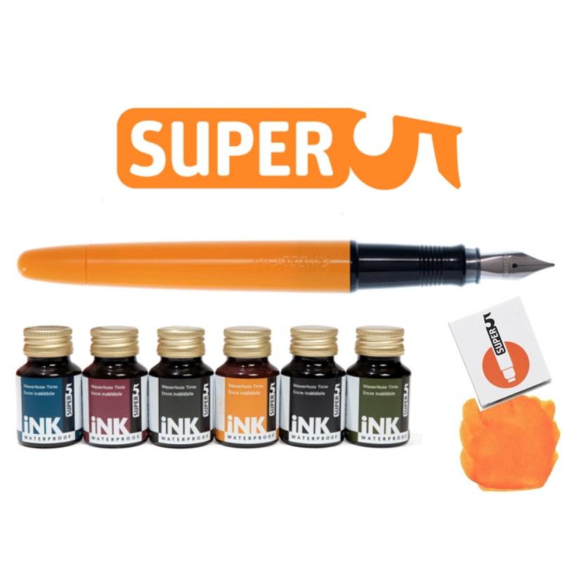 Super5 Waterproof Fountain Pens