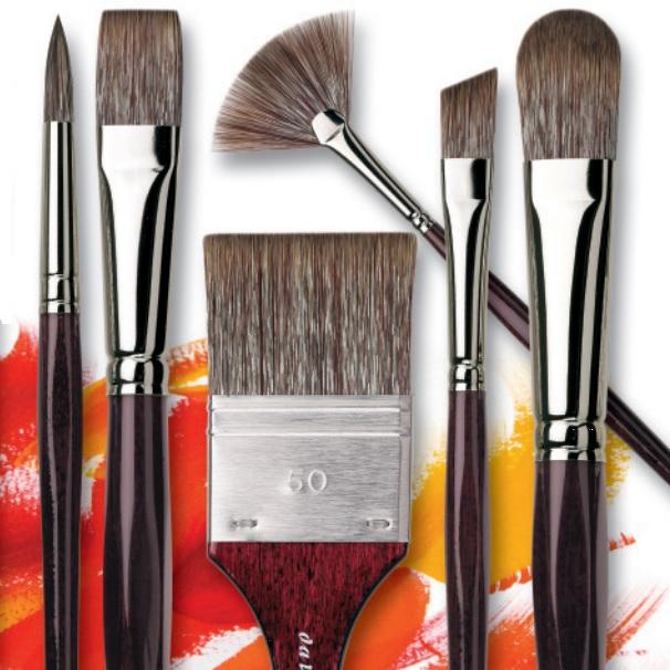 da Vinci Grigio Brushes