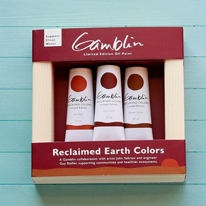 Gamblin Reclaimed Earth Oil Limited Edition Set