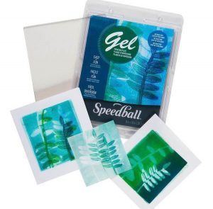 Gel Print School Projects