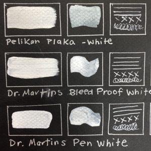 White Inks