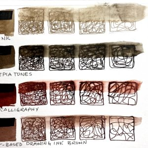 Water Soluble Inks