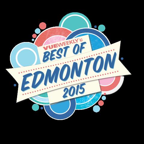 Vue Weekly's Best of Edmonton Award 2015