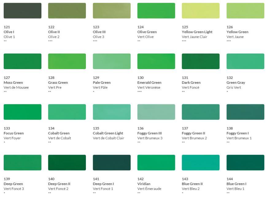 HKH Soft Pastel Colour Chart 5