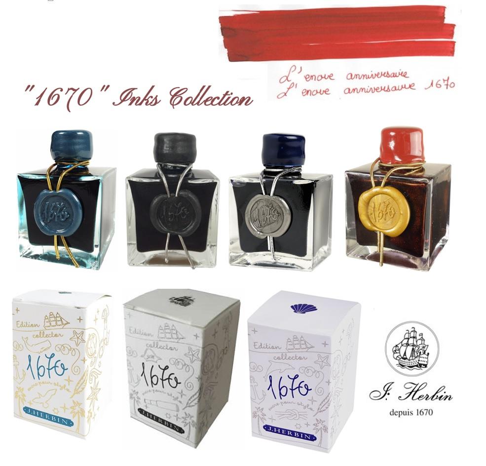 Herbin 1670 Inks