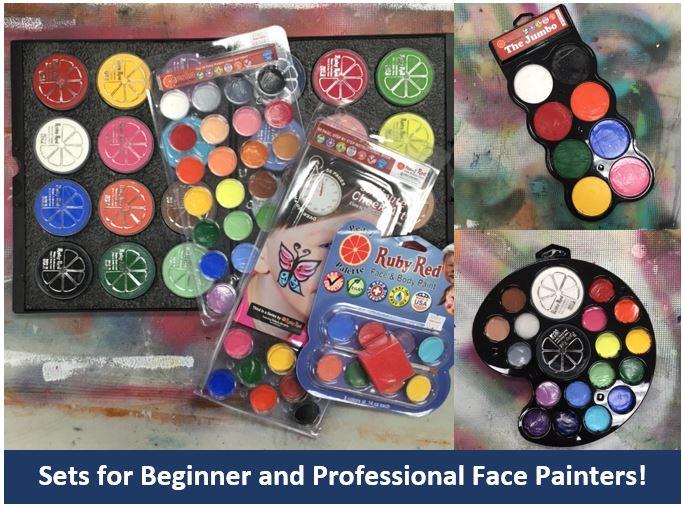 More Face Paint Sets