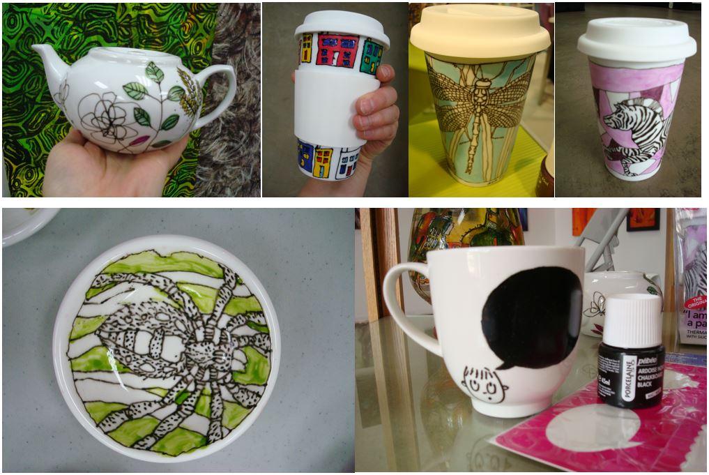 Pebeo Porcelaine 150 Painting IdeasCapture