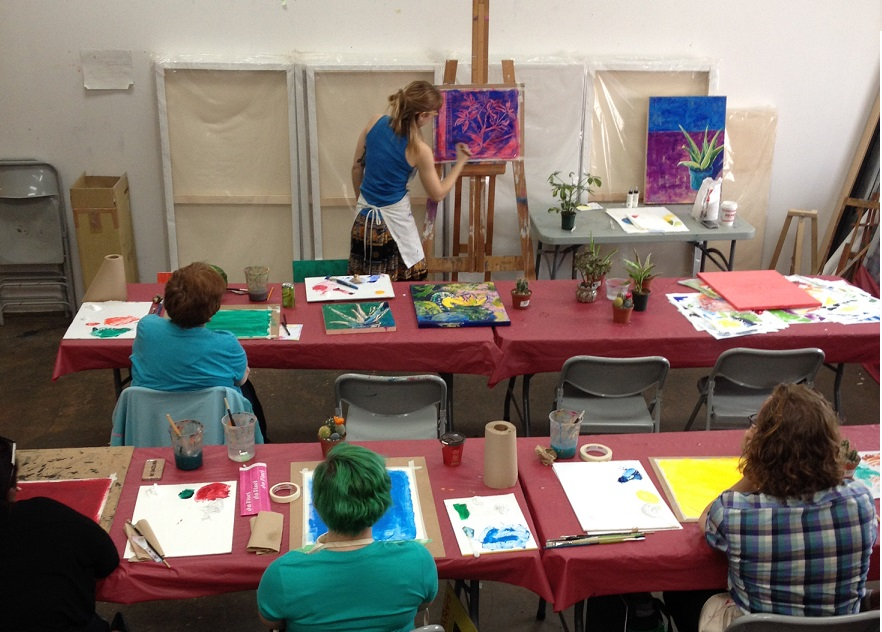 Art Classes at The Paint Spot