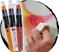 art-crayon
